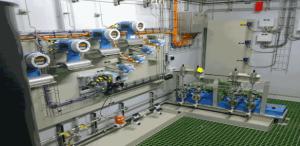 Flowmeters Feed systeem skid