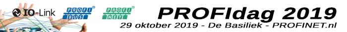 PROFIdag 2018 – 13 november 2018 – PROFIBUS, PROFINET en IO-Link