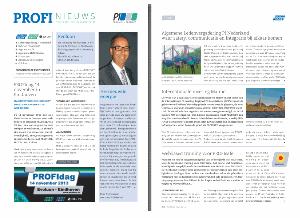Lees meer over het artikel 3e editie PROFInieuws bijgevoegd bij de PMA / Automatie