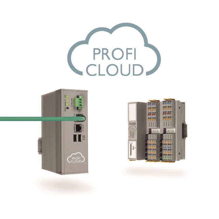 Lees meer over het artikel Proficloud koppelt cloud diensten aan PROFINET
