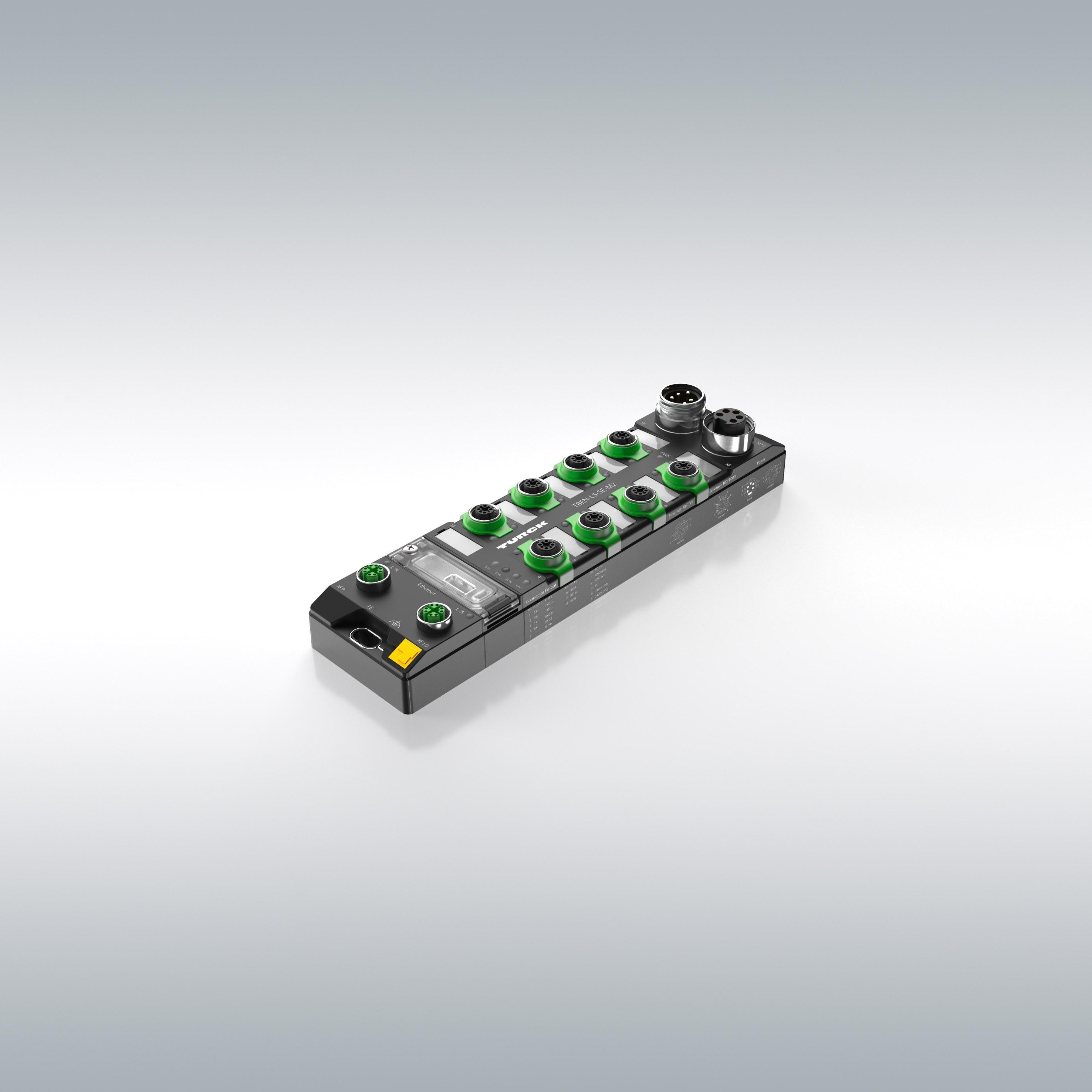 Lees meer over het artikel Managed Ethernet switch in IP67