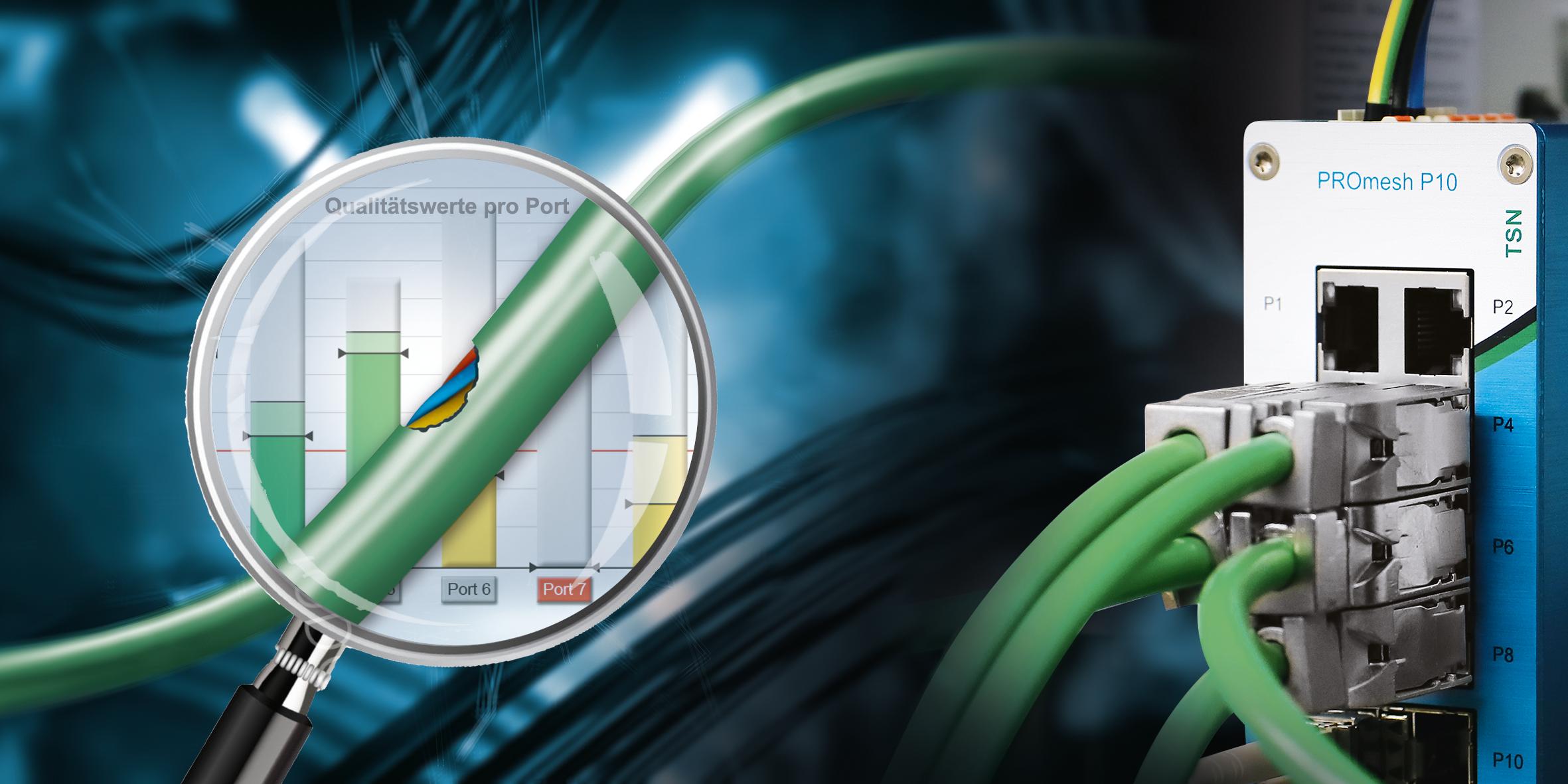 Lees meer over het artikel Industriële switch die EMC meet en kabelslijtage constateert. Testen?